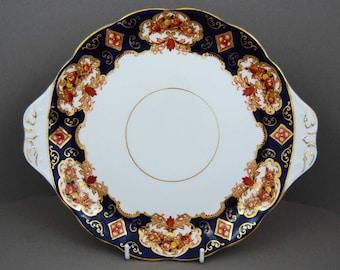 Royal Albert Heirloom Bone China Cake Plate