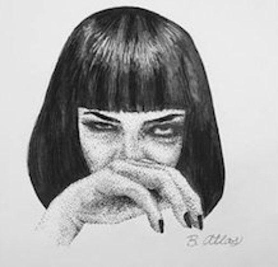 Mia Wallace Print