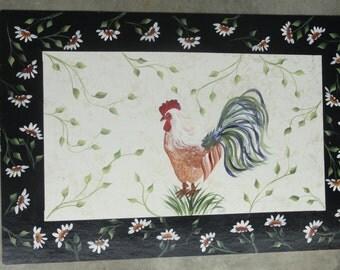 Hand Painted Floor Mats