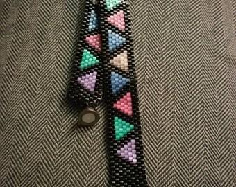 Delica bead peyote stitch bracelet
