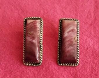 Navajo Sugilite Earrings