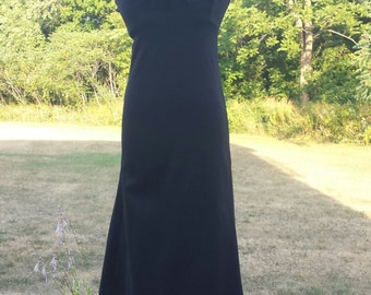 Vintage black ballgown