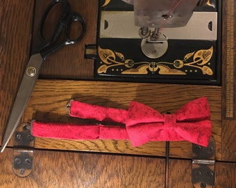 "Gentleman""s Red Bowtie"