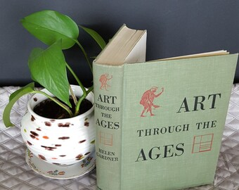 Vintage book - Art Through The Agest