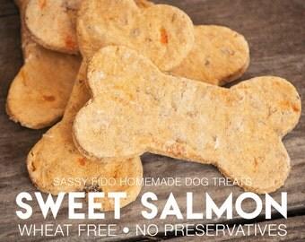 Sweet Salmon Homemade Dog Treats