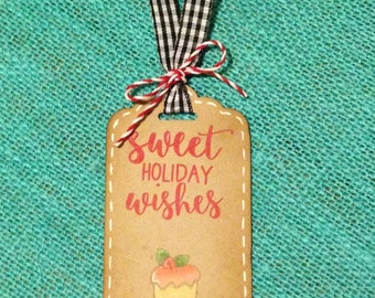 Home Baked Holiday Tags
