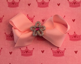 Bow with flower charms