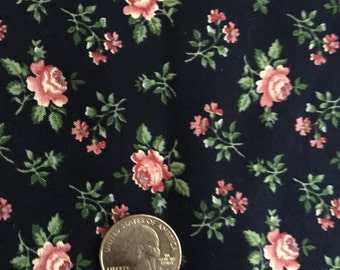 Y15, 1 1/8 Yards V.I.P. Fabrics, Calico Cupboard Collection, Vintage Quilting Fabric