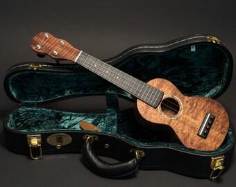 Custom soprano ukulele by William King