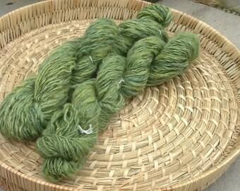 Home spun naturally dyed yarn