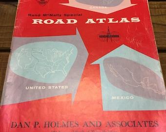 Rand McNally Special Road Atlas - 1956