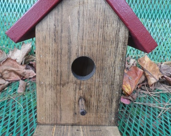 Birdhouse with Porch