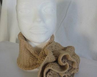 Mod scarf. Flower