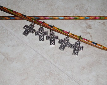 Cross stitch markers