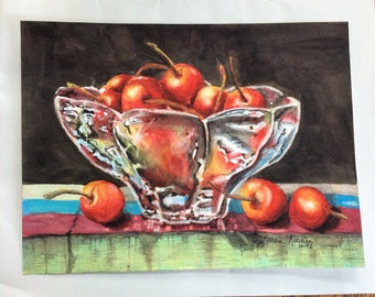 Life Is Just a Bowl of Cherries (Giclée  print)