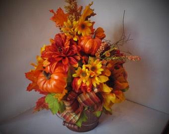 Fall Centerpiece arrangment