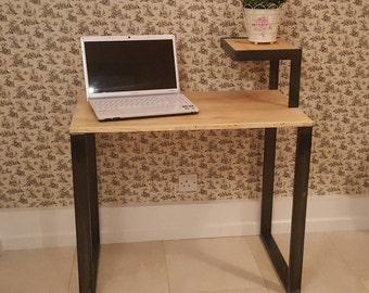 Steel desk frame