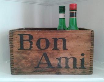 Vintage Bon Ami Wooden Box