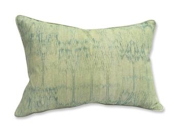 Tylergraphic Aqua Tie Dye Bolster Pillow Cover