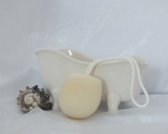 Handmade Soap on a Rope Chamomile & Rosehip