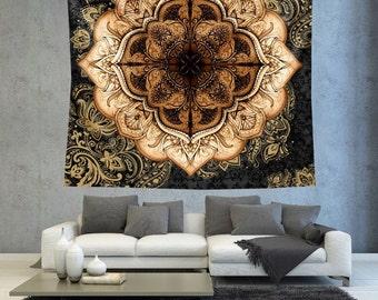Tapestry Wall hanging, Tapestry mandala, Mandala wall hanging, Mandala wall art, Wall Decor , tapestry for wall, Room decor tapestry