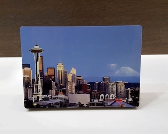Customized Metal Photo with table stand (5.00x3.50 inch)  - smartphone pictures into decorative metal art.