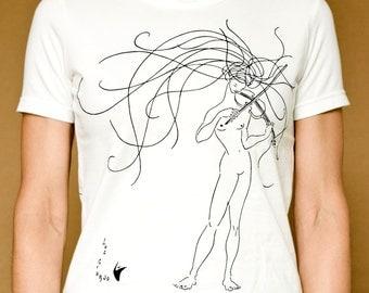 The violinist (version female)