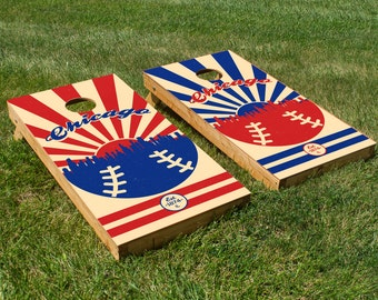 Chicago Cubs Cornhole Board Set