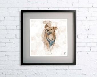 Additional Dog for Custom Pet Portrait