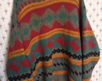 Irish wool oversized jumper