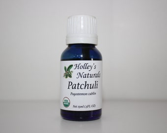 Holley's Naturals Organic Patchouli Essential Oil