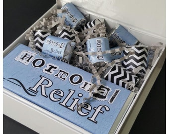 Hormonal Relief Chocolate Candy Gift Box / Favor Box / Get Well Gift Box