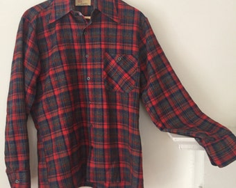 The perfect flannel, vintage Chinese