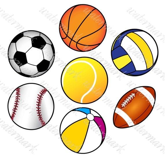 balls digital soccer digital sport clip art sports clipart clip art sports balls - melonheadz clip art sports balls in black and white
