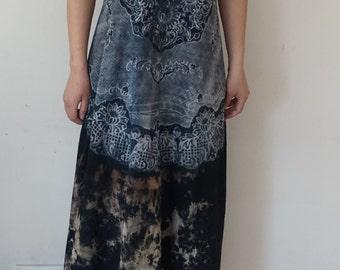 summer cotton long dress 4U