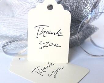 Thank You Gift Tags, Shower Gift Tag, Wedding Gift Tags, Hang Tags, Formal Hang Tag, Anniversary Gift Tags, Birthday Gift Tag