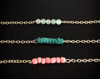Stackable Gem Bracelet