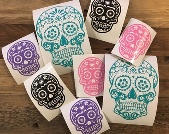 Sugar Skull Decals