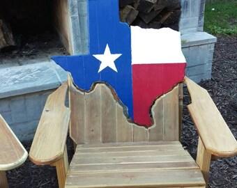 Texas Adirondack chairs
