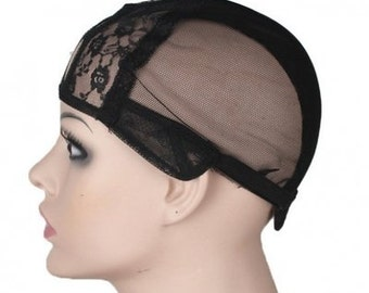 Wig Cap With Adjustable Straps