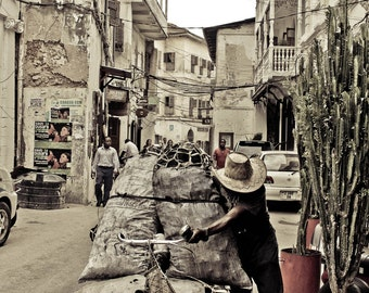 Stonetown, Zanzibar.