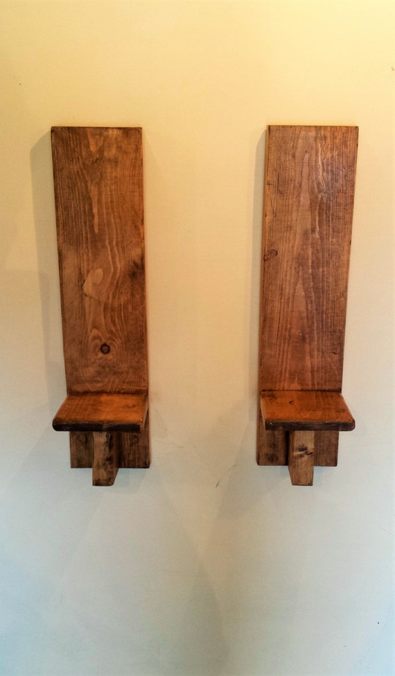 Wall Sconces Shelf : wooden wall shelf wood shelves Wooden Wall Sconces wall