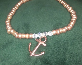 Rose gold / Bronze Anchor Bracelet