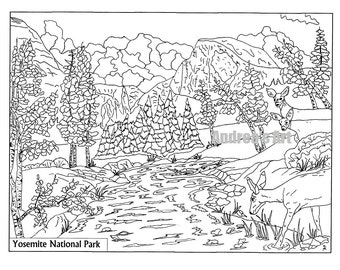 adult coloring pages outdoors - photo#8
