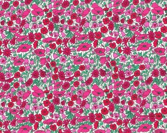 Tana lawn fabric from Liberty of London, Petal and Bud
