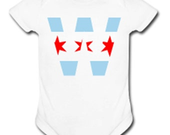 Chicago Cubs Win Flag Baby Onesie || Postseason || Playoffs || World Series || Post Season || Arrietta || Bryant || Zobrist || Valentine