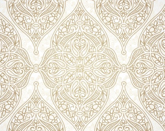 Boho Chic Damask Peel And Stick Wallpaper 135 Adhesive Vinyl Pattern