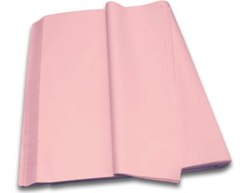 PALE PINK - Acid Free Luxury Tissue Paper Sheets 750mm x 500mm