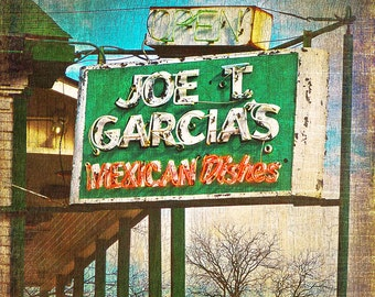 "Ft. Worth, Texas - ""Joe T. Garcia"" - (images is vertical)"