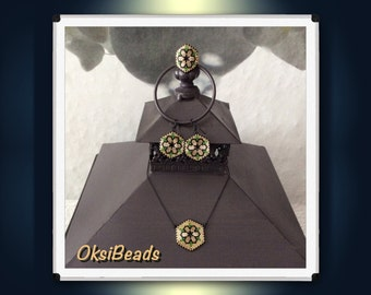"""Pearl Jewelry from """"delica beads"""""""